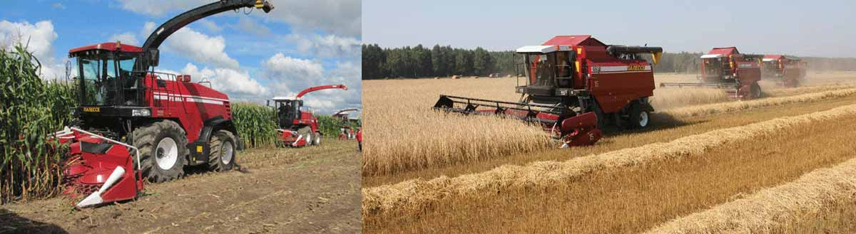 combine harvester and mini forage harvester manufacturers in India at best price